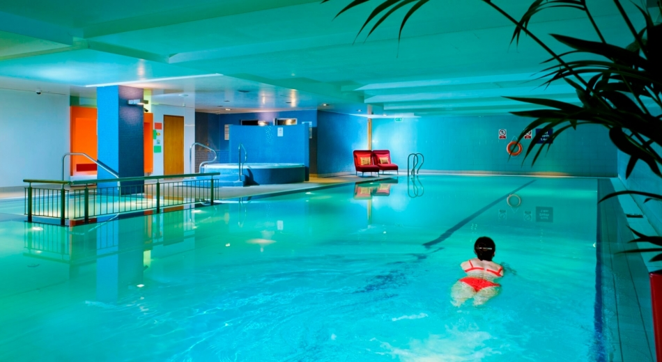 hotel with swimming pool cork