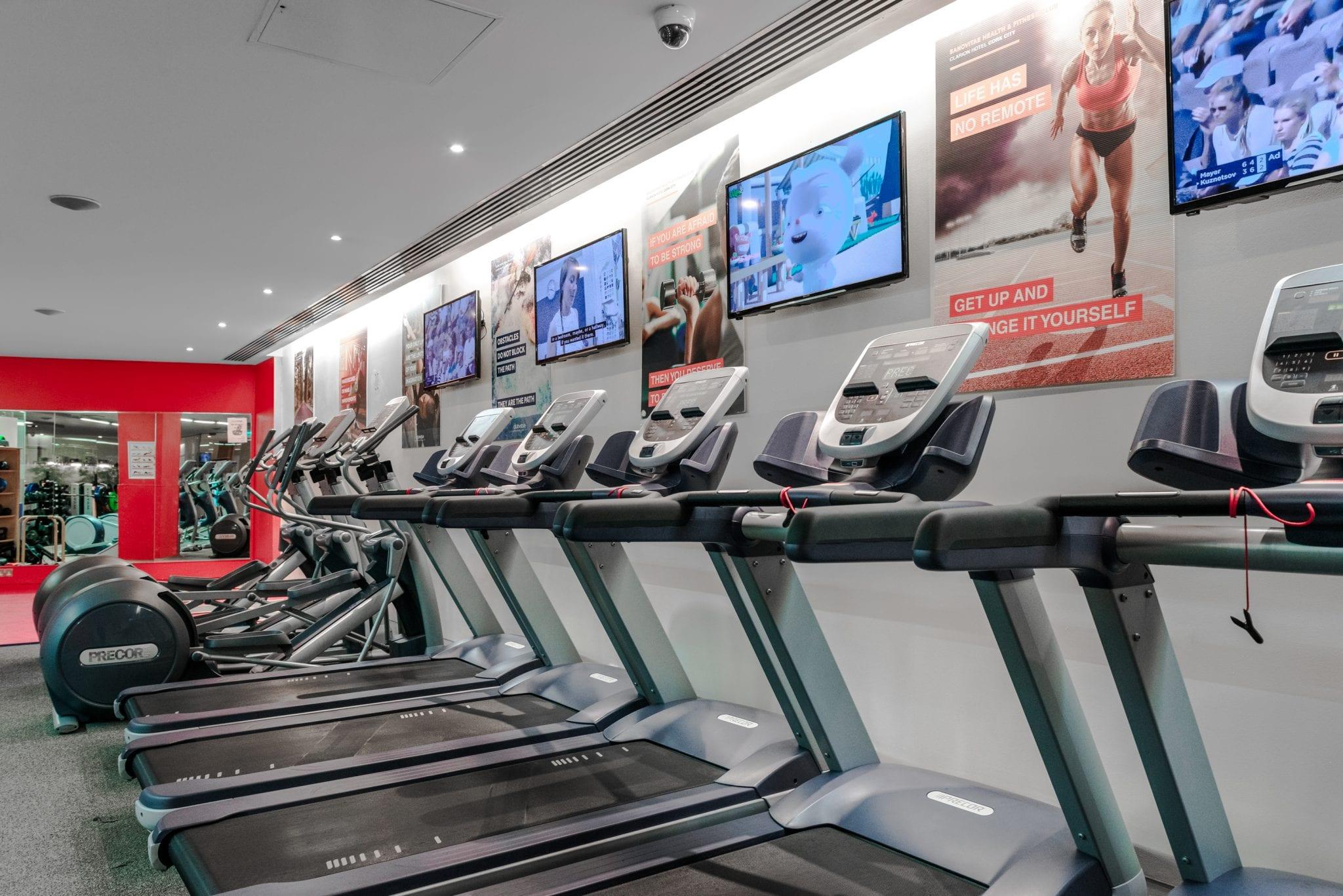 hotel gym in cork city