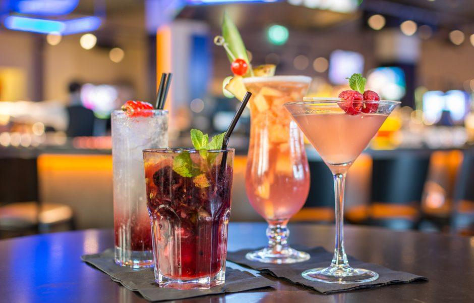 Clayton Hotel cocktails